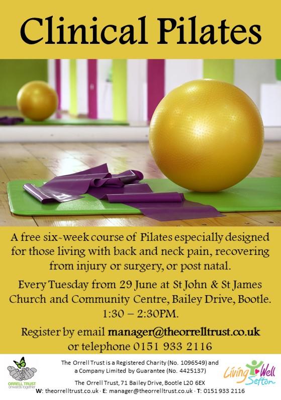 Clinical Pilates Flyer